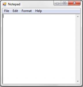 "<span itemprop=""name"">سورس برنامه notepad به زبان سی شارپ</span>"