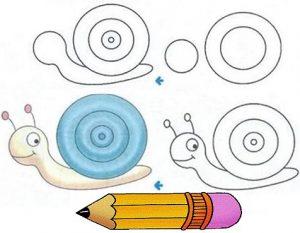 آموزش نقاشی به صورت مرحله ای برای کودکان